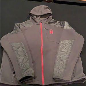Men's Spyder lightweight hoody jacket
